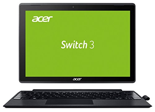 Acer Switch 3 SW312-31-P0US 31 cm (12,2 Zoll Full-HD) Convertible Notebook (Intel Pentium N4200 Quad-Core, 4GB RAM, 64GB eMMC, Intel HD, Win 10 S) alu-anthrazit