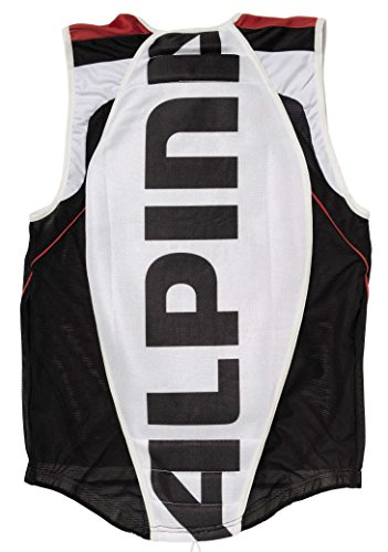 Alpina Jacket Soft Protector, Farbe: weiß S - WHITE-BLAC