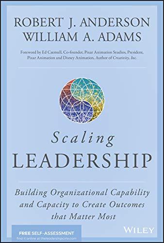Scaling Leadership por Robert J. Anderson