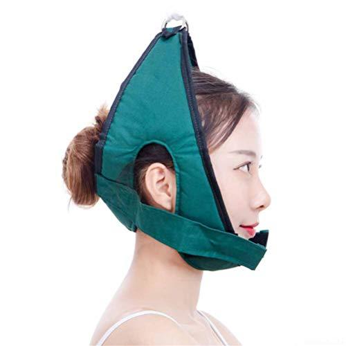 WODEQ Kopf Hals Hängematte, Hals Hängematte Zervikale Zugkraft Therapie Neck Zugmittel Effektive Nackenentlastung Zervikaler Schmerz (Therapie-hängematte)