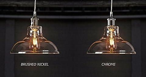 Edison 1 Ceiling Light Pendant Fixture by Fab Light– Vintage