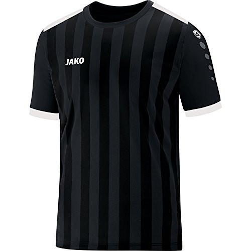 JAKO Herren Trikot Porto 2.0 KA, schwarz/weiß, XL -
