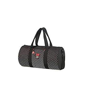 American Tourister Urban Groove Disney Bolsa de Viaje, 43 cm, 20.5 Liters, Multicolor (Minnie Mouse Polka Dot)