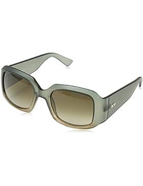 Emporio Armani Damen Sonnenbrille Rechteckig XXL Kunststoff