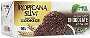 Tropicana Slim Sugar Free Cookies Chocolate, 100 gm