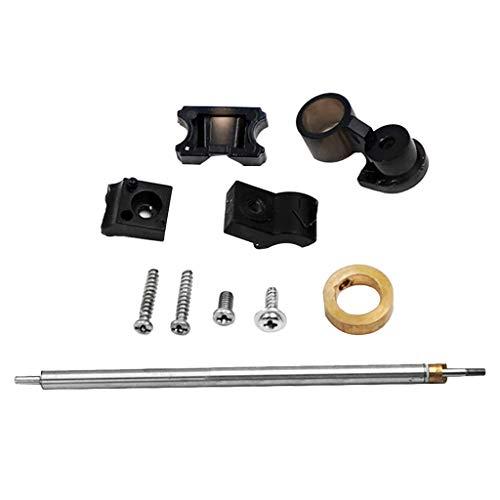 Fenteer Metall Stahlrohr Antriebswelle Montage Bootszubehör für Feilun FT011 RC Boot
