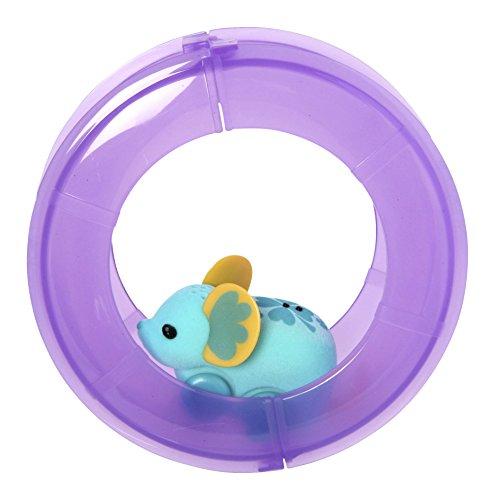 Little Live Pets Lustiges Rad und Spielzeug-Maus Dunkelviolett