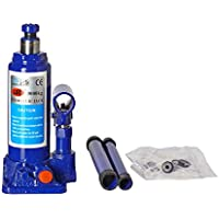 STARVIN® Super Premium Heavy Car Hydraulic Jack for All Cars (Universal) (Blue & Red) G-217