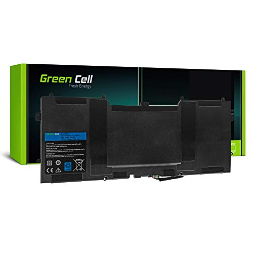Green Cell Y9N00 Laptop Akku für Dell XPS 13 9333 L321x L322x XPS 12 9Q23 9Q33 L221x (Li-Polymer Zellen 6300mAh 7.4V Schwarz) - 12 Zellen Notebook-akku