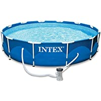 Intex 28212 Metal Frame Swimming Pool - Blue