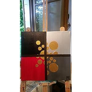 Bild, abstrakt, modern, Malerei, Kunst, Original, Acryl, Gemälde, handgemalt, Unikat, 40x40cm