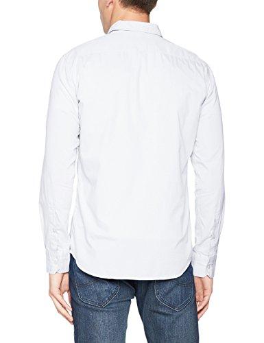 BOSS Orange Herren Freizeit Hemd Weiß (White 100)