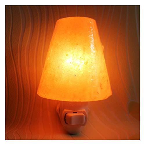 Kegel-Salzlampe, Himalaya-Salz-Lampe Wand Lampen E14 10W für Luft reinigen, Geschenke und Innendekorationen - Kegel-wand-lampe