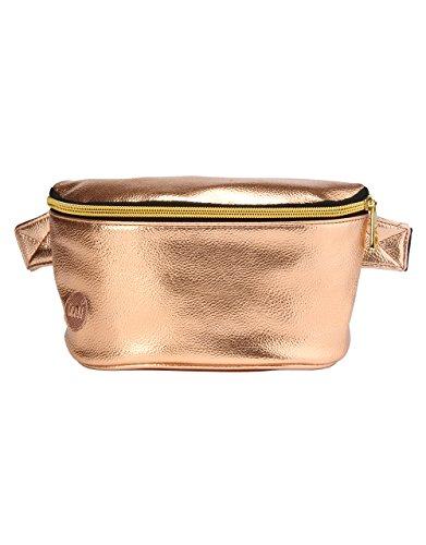 Mi-Pac-Borsa per oculari della linea Bum metallizzato, colore: oro rosa, taglia unica
