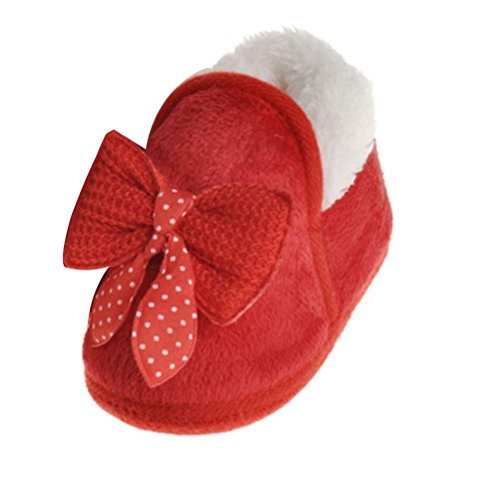Zhuhaitf Ausgezeichnet Baby Non-slip Shoes Learn to Walk Infant Toddler Lovely Soft Sole Shoes Red