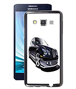 Fuson 2D Printed Car Designer Back Case Cover for Samsung Galaxy A3 - D622