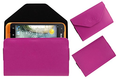 Acm Premium Pouch Case For Lenovo A660 Flip Flap Cover Holder Pink  available at amazon for Rs.179