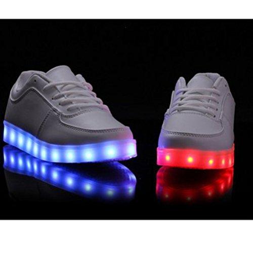 Schuhe C15 Sieb Usb Licht Handtuch Neuen Koreanischen Männer Led kleines Emittierende die Frauen Und lampe lade Leucht Leuchtet RTqYBg