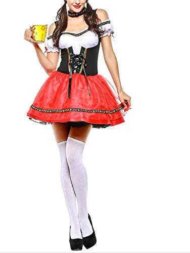 Mitef Frauen Maid Uniform Kleider Deutsch Oktoberfest Dress up
