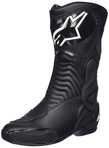 2333014 155 43 - Alpinestars S-MX 6 GTX Motorcycle Boots 43 Black (UK 9)