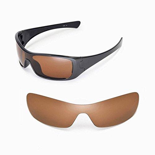 Preisvergleich Produktbild Ersatzgläser für Oakley Antix | Polarized Brown Gläser | Sunglasses Restorer