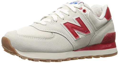 New Balance WL 574 B RSA Sea Salt Red Panna Rosso