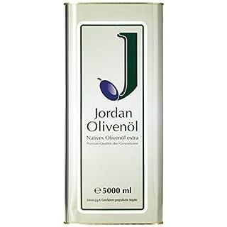 Jordan Olivenöl Natives extra - 5,00L Kanister, 1er Pack (1 x 5 l)