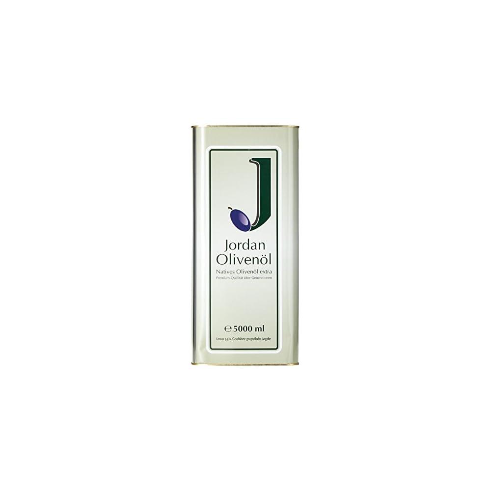 Jordan Olivenl Natives Extra 500l Kanister 1er Pack 1 X 5 L