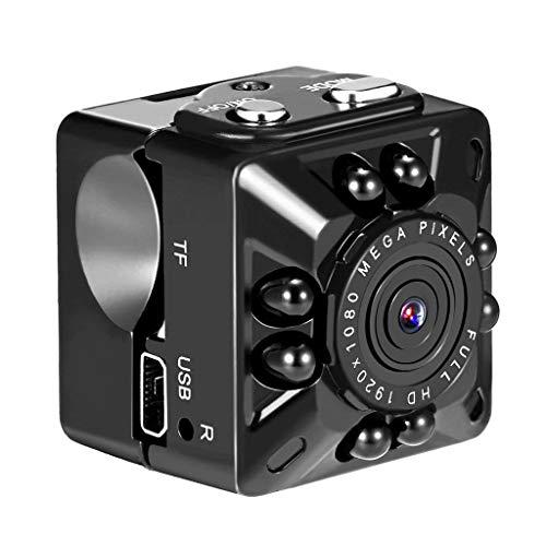 WINJEE, SQ10 Mini Kamera 1080P Portable Security Camcorder kleine Kamera mit Nachtsicht Bewegungserkennung Unterstützung Versteckte TF-Karte pk sq 8