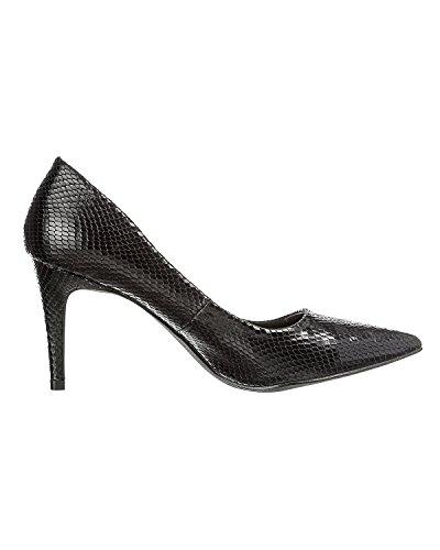 Pieces Valda scarpe Nero