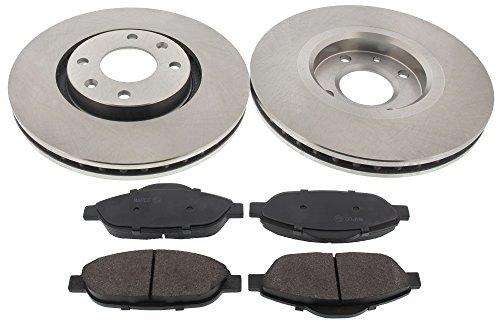 Preisvergleich Produktbild MAPCO 47431 Bremsscheiben mit Bremsbelägen