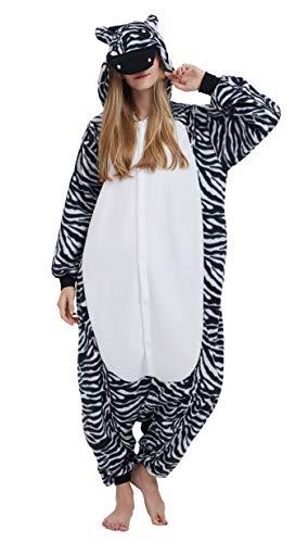 YarBar Tier Onesies Karneval Halloween Kostüm Nachtwäsche Cosplay Pyjama Erwachsene Unisex Kigurumi Jumpsuit (L (für Höhe 164-174CM), - Kinder Hamster Pyjama Kostüm