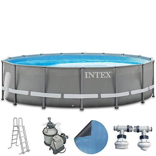 Intex Premium-Pool Komplettset 488×122 cm mit Sandfilte…   04260237782643