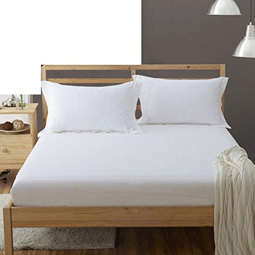 Baumwolle Matratzenbezug Königin 100 (Verdickte warme bettwäsche,Bettdecke matratze bett pads schützenden fall 360° volle deckung tagesdecke königin könig-M 100x200cm(39x79inch))