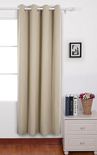 Deconovo pcs di tende da sole blackout tende per tua casa 100% poliestere 140x240 cm crema con occhielli