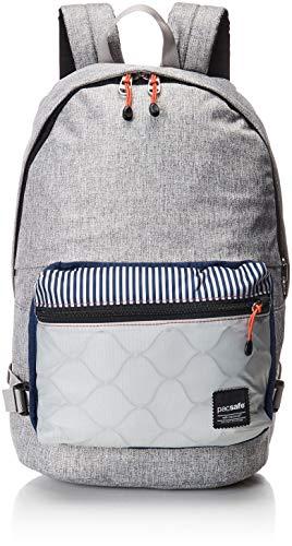 Pacsafe Slingsafe LX400, Anti-Diebstahl Rucksack mit Abnehmbarer Umhängetasche, Daypack mit Sicherheitstechnologie, 20 Liter, Grau meliert...