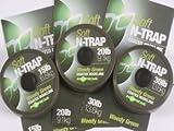Korda N-Trap Soft 20m Vorfachschnur, Tragkraft:15lbs/6.8kg;Farbe:Silt (Schlamm)