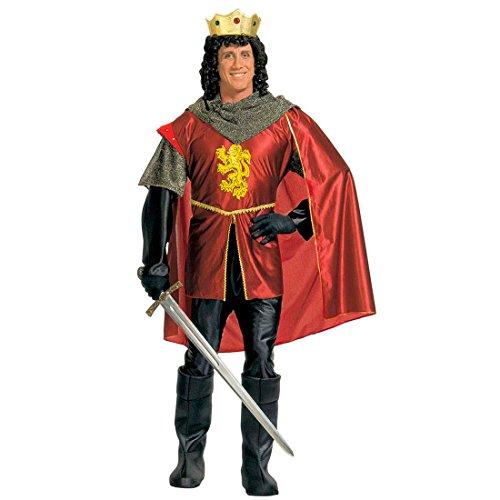 Edle König Für Erwachsenen Kostüm - König Ritter Kostüm Ritterkostüm Herren Edle
