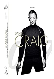 James Bond 007 - Daniel Craig : Casino Royale + Quantum of Solace + Skyfall + Spectre [Blu-ray] (B01977TAHK) | Amazon price tracker / tracking, Amazon price history charts, Amazon price watches, Amazon price drop alerts