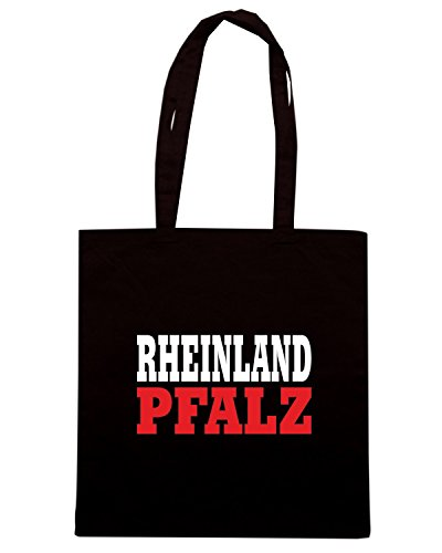 T-Shirtshock - Borsa Shopping WC0844 RHEINLAND PFALZ GERMANY LAND CITY Nero