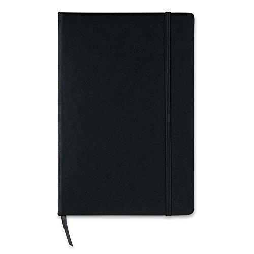 A5 Hardcover Squared / Graph Paper Note Book - Tagebuch Veranstalter Pad Jotter (schwarz) (Notebooks Veranstalter)