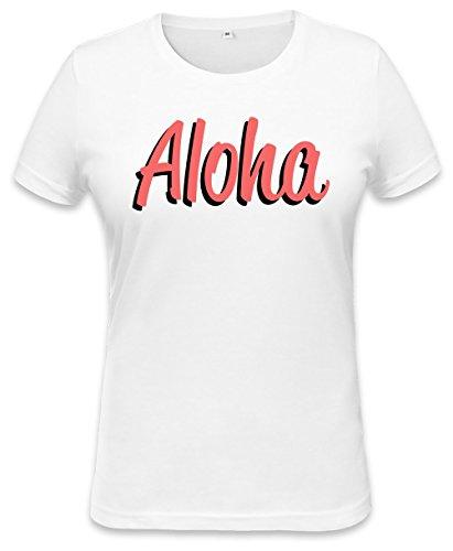 Aloha Hawaiian Womens T-shirt Small - Womens Hawaiian-t-shirt