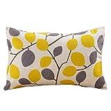 kopfkissenbezug 30 x 50, LuckyGirls Geometrische Druck Kissenbezug Cafe Home Decor Pillowcase