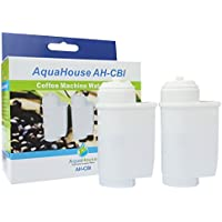 2x AquaHouse AH-CBI Compatible para Brita Intenza Filtro de agua para Bosch Neff Siemens Gaggenau Cafeteras TZ70003 TCZ7003 467873 575491