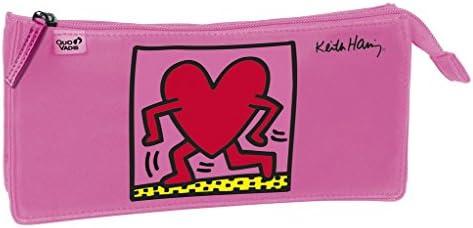 Quo Vadis - Keith Keith Keith Haring - Fourre-Tout Rectangulaire - 23,5x11,5 cm B00W6XPYO6   Un Prix Raisonnable  a93889