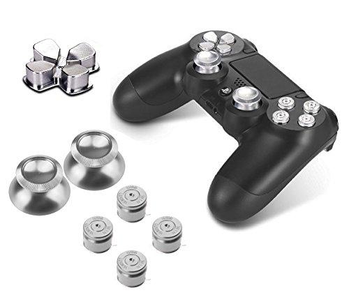 PhoneStar-Sony-Playstation-4-DualShock-4-controller-di-capsule-in-alluminio-Pulsanti-di-ricambio-Accessori-thumbsticks-tastiera-per-PS4