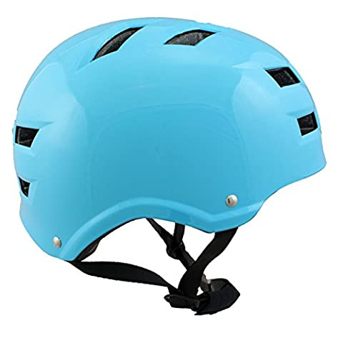 Skate & BMX Helmet, Monster Blue Next-Level, L