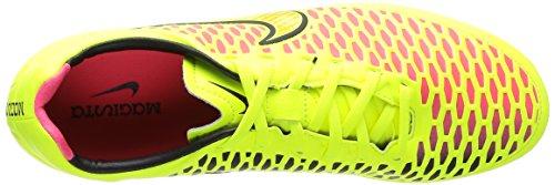 Nike Magista Orden FG Scarpe sportive, Uomo Giallo (Volt/metallic Gold Coin/black/hyper Punch)