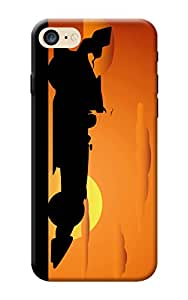Apple iPhone 7 Designer Back Cover KanvasCases Premium 3D Printed Hard Case