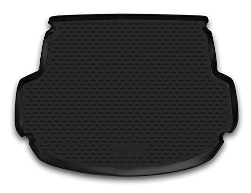 AD Tuning TM17005 Passform Gummi Kofferraumwanne, rutschfest, schwarz